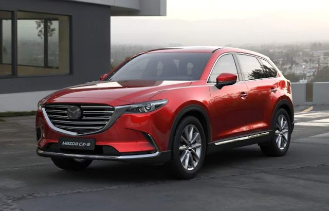 All New Mazda CX9 indonesia merah