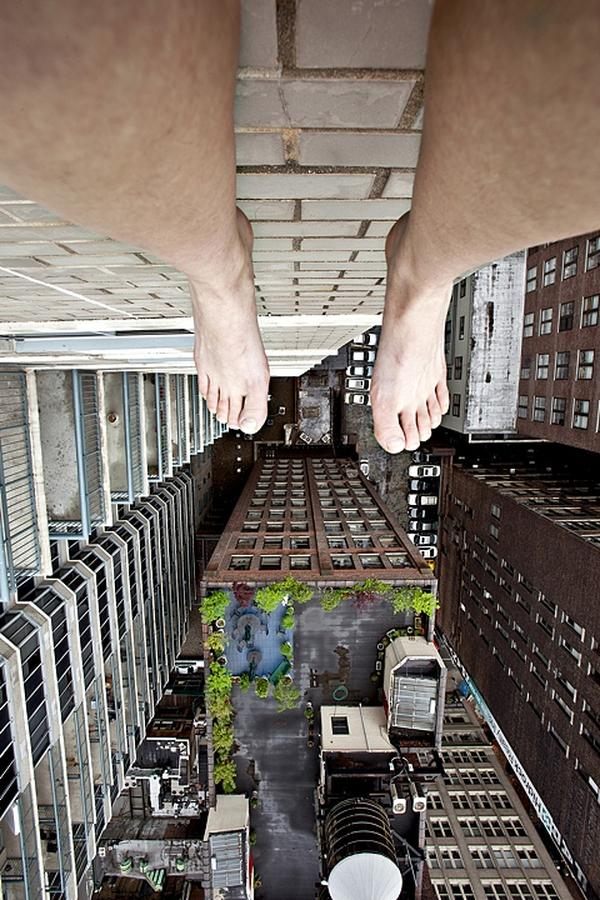 Ahn Jun. Death Defying Self-Portrait