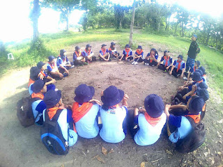 ounbond kegiatan pra kuliah PSPP Yogyakarta briefing ular