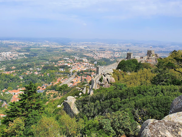 Sintra: Visiting the Moorish Castle