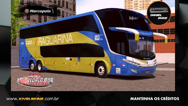 PARADISO G7 1800 DD 6X2 - VIAÇÃO ARAGUARINA