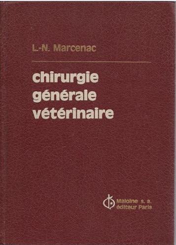 Chirurgie générale vétérinaire - WWW.VETBOOKSTORE.COM