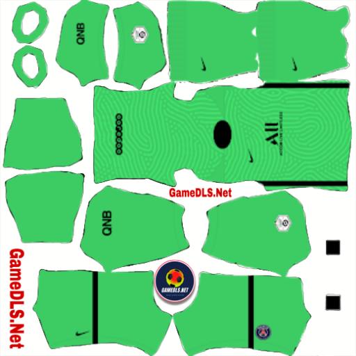 kit paris saint-germain dream league soccer 2022