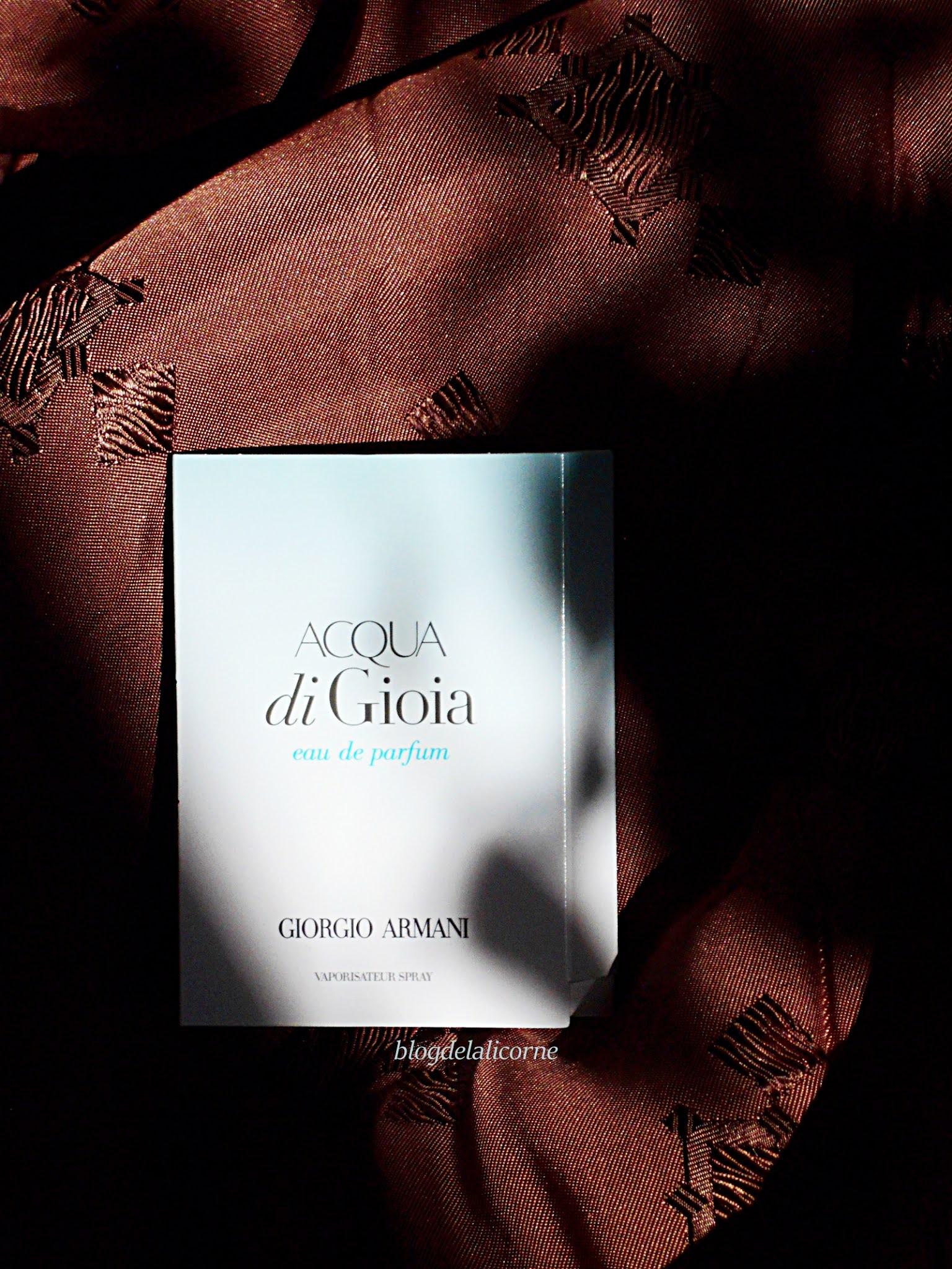 Armani Acqua di Gioia parfumovaná voda pre ženy recenzia