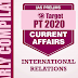 GS Score Target PT 2020 International Relations Current Affairs PDF Download in English