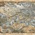 10 Fantásticos mapas na arte da cartografia literária de Francesca Baerald