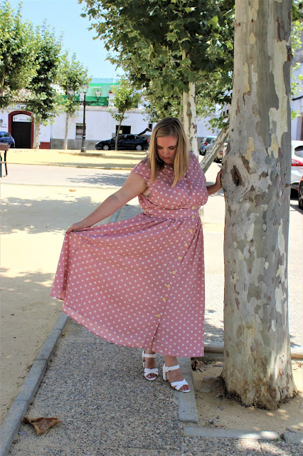 vestido_rosa_lunares_shein_lachicadelmilenio