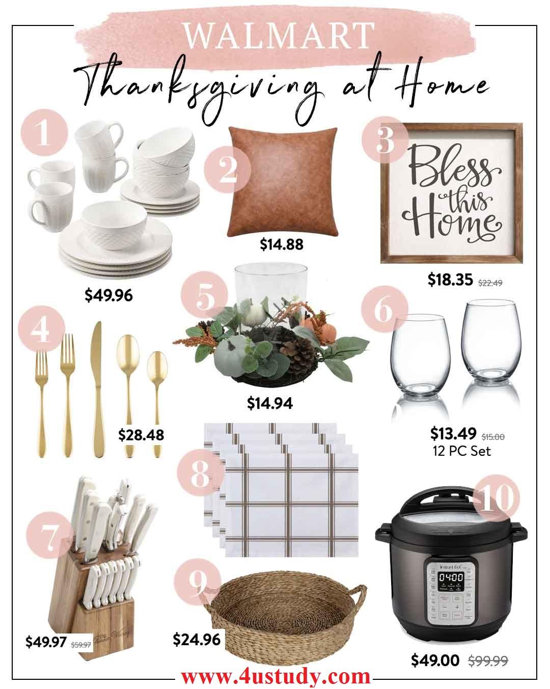 Walmart   Thanksgiving at Home