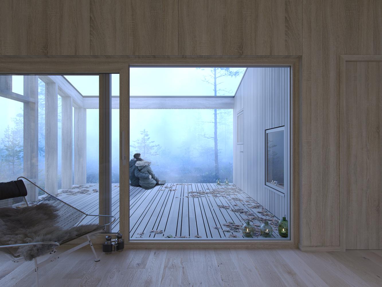 Scandinavian Modular House Concept Denmark Prefab Modular Homes And Buildings