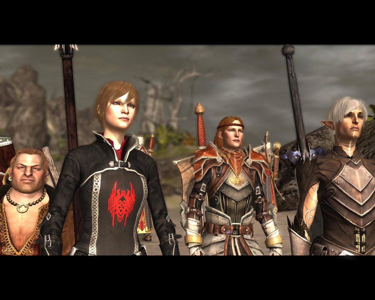 Dragon Age Origins Natural Bodies Mod Installation Skyrim Wallpaper