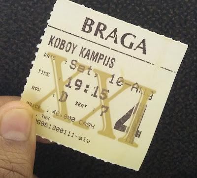 Tiket bioskop