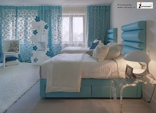 simple bedroom design and color