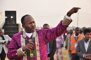 The General Overseer of Omega Fire Ministries Worldwide, Apostle Suleman Denies 'Ever' Promising Stephanie Otobo Marriage