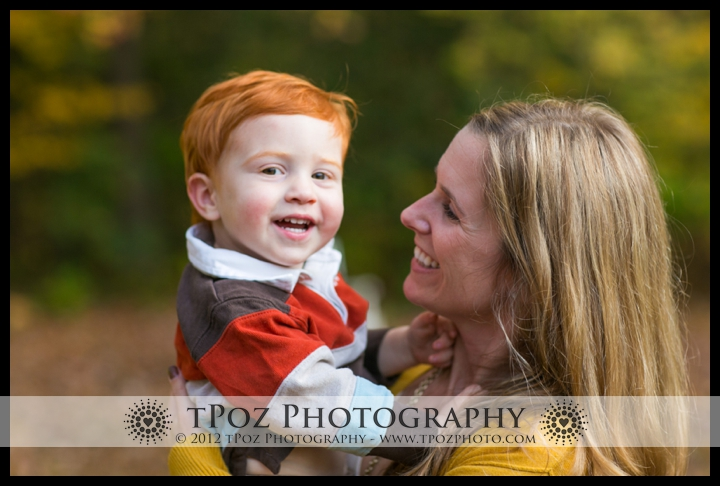 mother son portrait