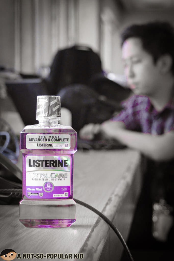 Listerine Total Care Antibacterial Mouthwash