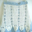 Vintage Pillowcase and Crochet Apron