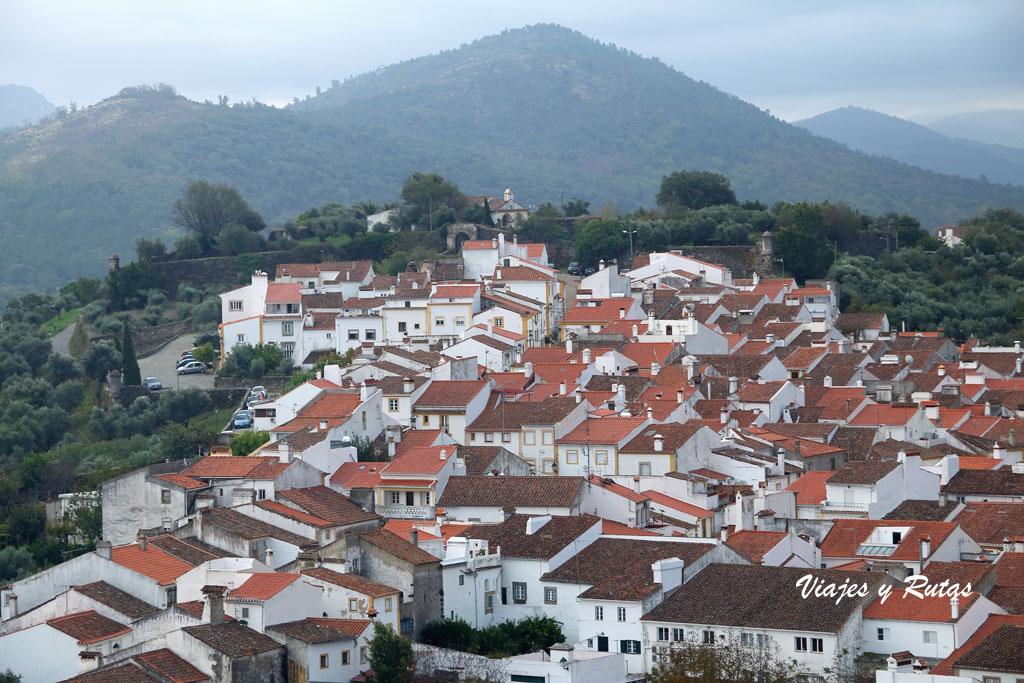 Vistas del Castelo de Vide desde el castillo