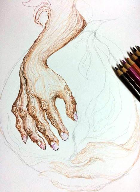 Lines of Lila: Artwork in Progress