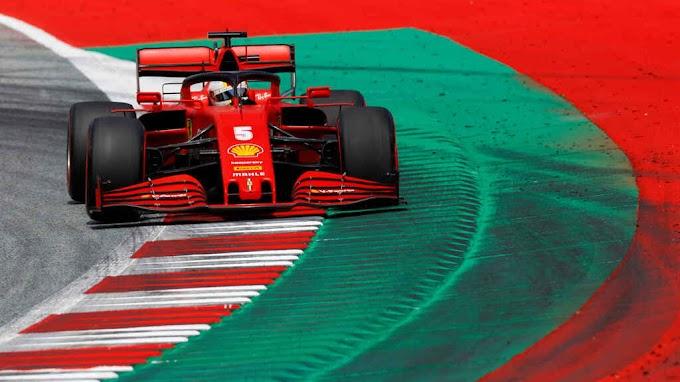 Ferrari se presentó con dos patrocinantes menos