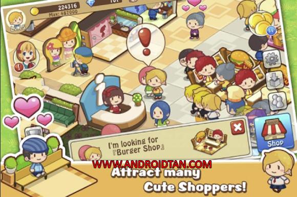 terbaru kepada kalian semua sehingga kalian mempunyai bermacam Happy Mall Story Mod Apk v1.7.1 Unlimited Diamonds Terbaru