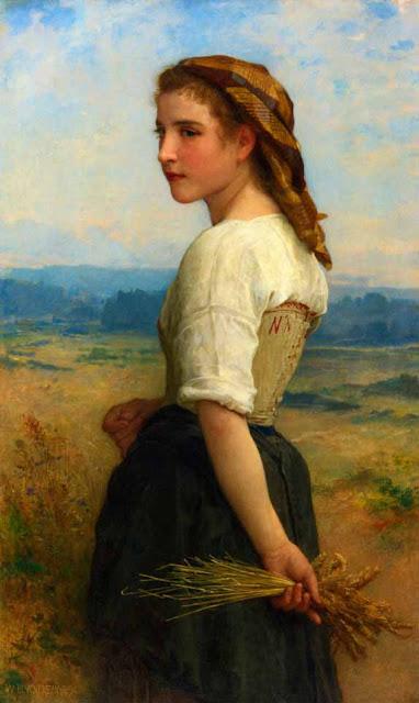 Адольф Вильям Бугро - Сборщица колосьев (1894)