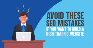 11 Deadly SEO mistakes