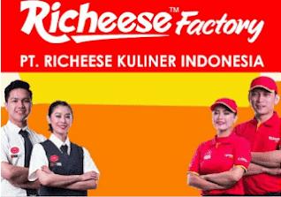 Lowongan Kerja Terbaru PT. Richeese Kuliner Indonesia