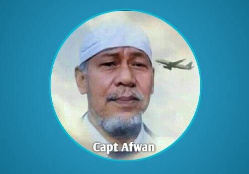 DDII Bogor Beri Penghargaan Kepada Capt Afwan Sebagai Pilot Teladan