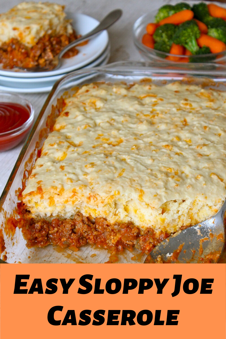 Easy Sloppy Joe Casserole