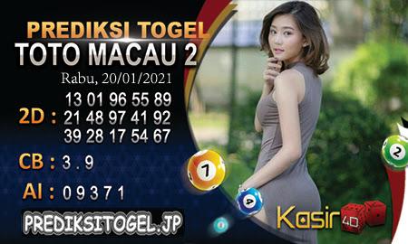 Prediksi Kasir4D Togel Macau Rabu 20 Januari 2021