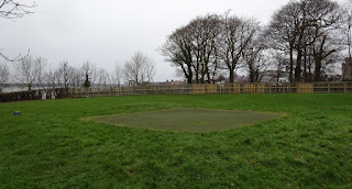 Pitch & Putt Mini Golf course at Coed Helen Park in Caernarfon