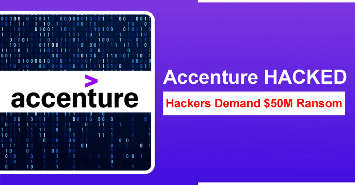 Accenture Hacked – Lockbit 2.0 Ransomware Compromised Thousands of Computers & Demand $50M
