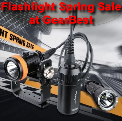 Flashlight Spring Sale