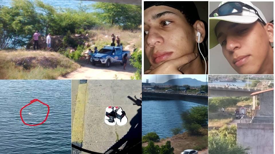 Após publicar carta de despedida no Instagram, jovem pula no Rio São Francisco e desaparece