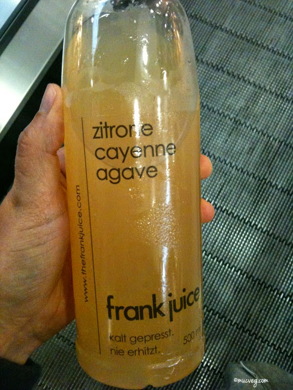 drink petersilie zitrone ingwer