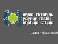 Belajar Membuat Menu Popup pada Android Studio