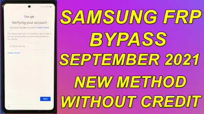 Samsung FRP Bypass September 2021 Patch Android11 Free Bypass Tool Download