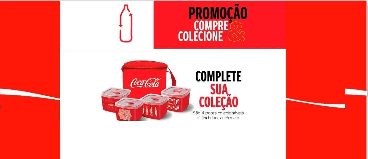 Promoção Compre e Colecione Coca-Cola 2020 - Potes e Bolsa Térmica