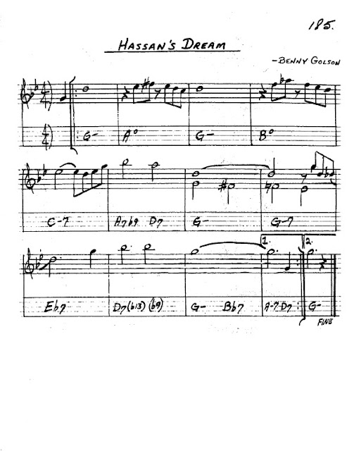 Partitura Saxofón Benny Golson