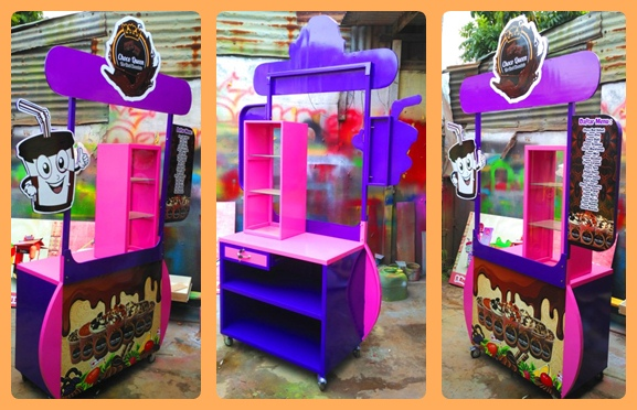 Booth Portable Minuman