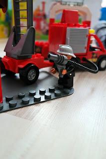 klocki strażak