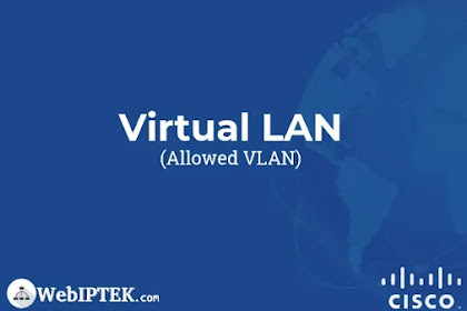 Konfigurasi Allowed VLAN Cisco untuk Membatasi VLAN pada Trunking Port