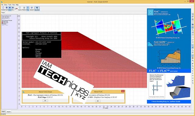 ITASCA Flac2D v8.0