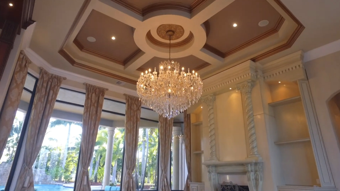 31 Interior Design Photos vs. 16800 Berkshire Ct, Southwest Ranches, FL Luxury Mansion Tour