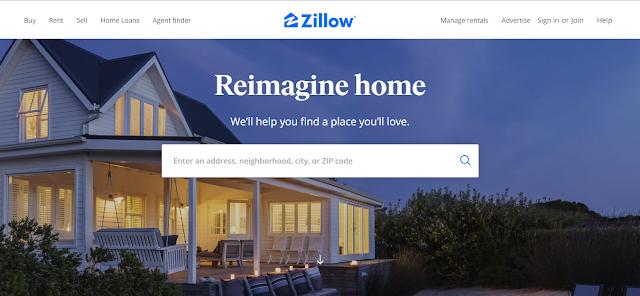 Zillow  - fun websites