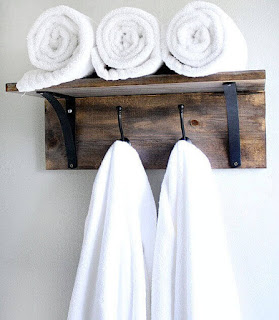 Idea of Hanging Decorative Towels l Make Your Towel Hanger More Artful With Our Ideas