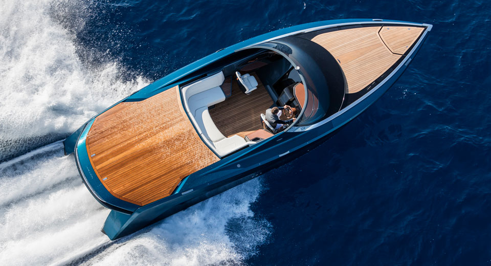 Aston Martin ventures into the seas with its first powerboat