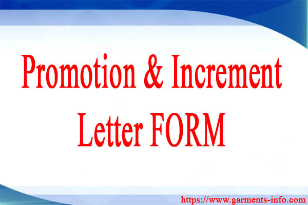 Increment  Confirmation Form Employees Pre-Confirmation