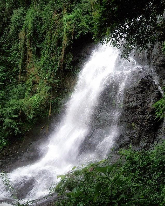 Cascata dos Narcisos: bela, mas poluída. (Gramado, RS)