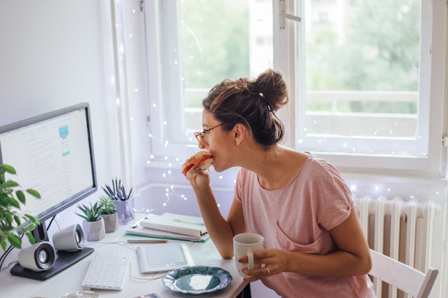 eat while work from home